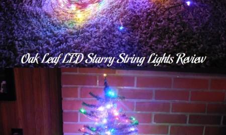 Oak Leaf LED Starry String Lights Review