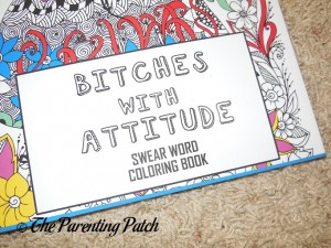 Title of Bitches with Attitude: Swear Word Coloring Book (Volume 1)