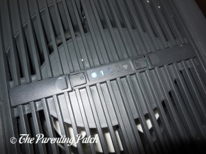 Operator Panel of the Venta Airwasher 2-in-1 Humidifier & Air Purifier LW25