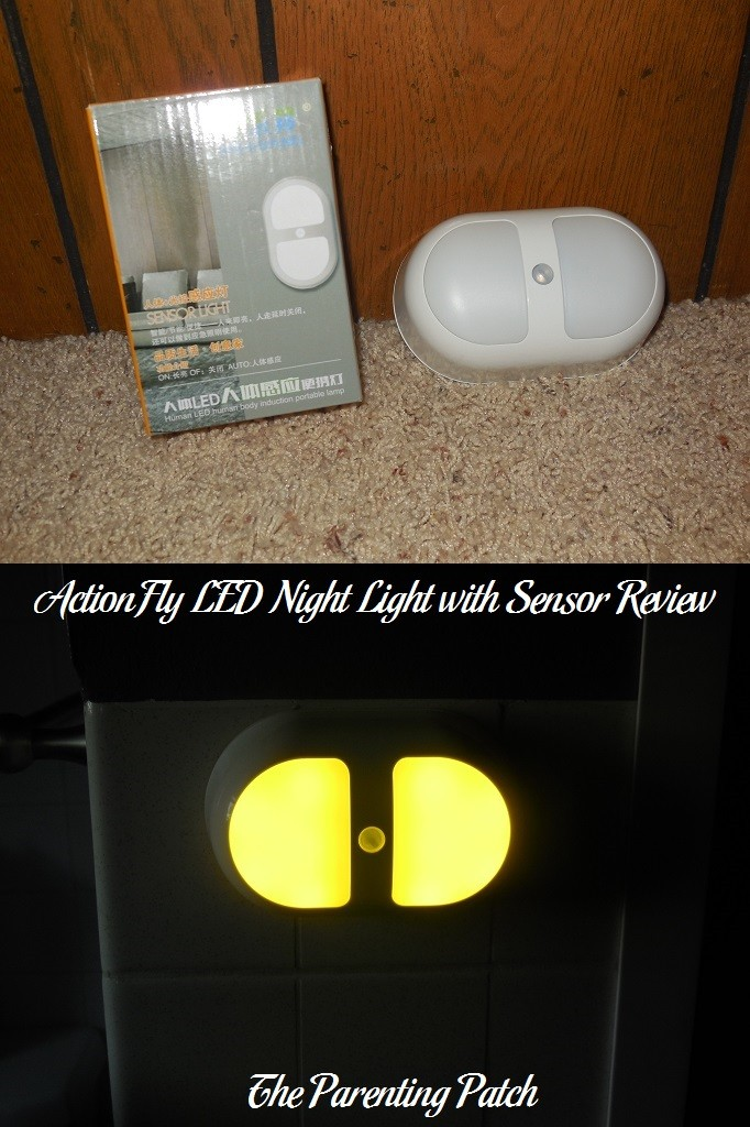 ActionFly LED Night Light with Sensor Review