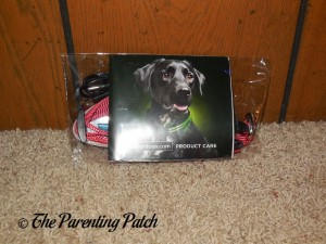 Shine for Dogs LED Dog Collar in Packaging