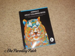 Cover of Animals Adult Coloring Book
