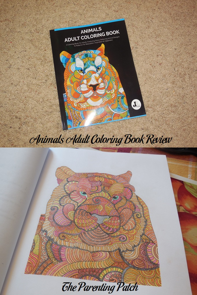 Animals Adult Coloring Book Review