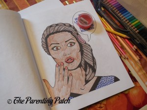 Picture Colored with US Art Supply Watercolor Pencils 2