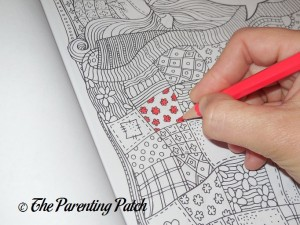 Coloring with the US Art Supply Watercolor Pencils 1