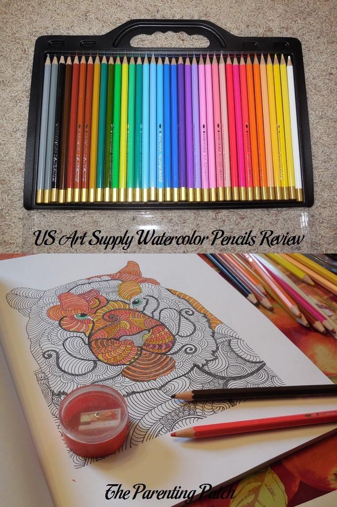 US Art Supply Watercolor Pencils Review