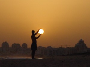 The Sun in Your Hands