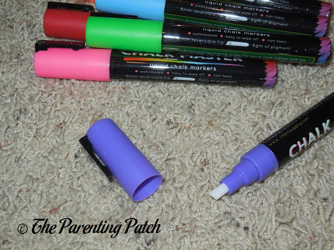 how to make liquid chalk markers