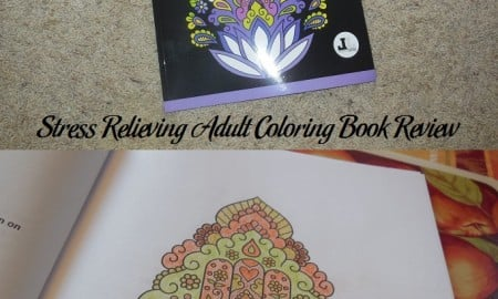 Stress Relieving Adult Coloring Book Review