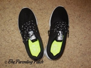 Inside the NDB Kids Running Shoes