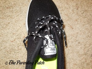 Laces of NDB Kids Running Shoes