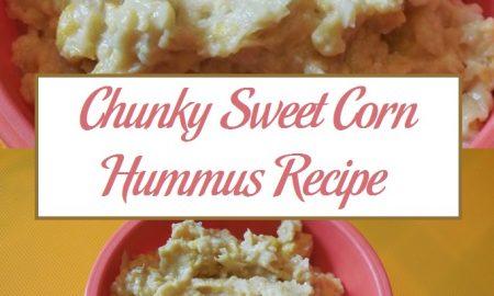 Chunky Sweet Corn Hummus Recipe