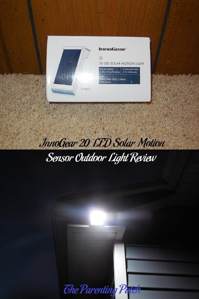Innogear 20 led solar motion sensor outdoor light review parenting innogear 20 led solar motion sensor outdoor light review aloadofball Images