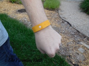 Front of MLVOC All Natural Mosquito Repellent Bracelet