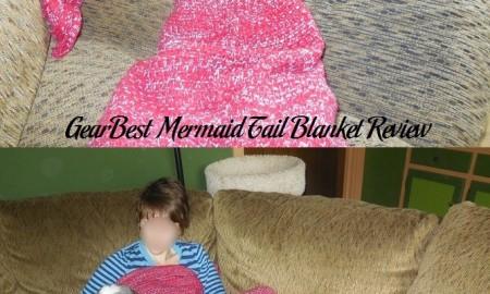 GearBest Mermaid Tail Blanket Review