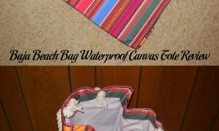 Baja Beach Bag Waterproof Canvas Tote Review