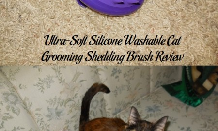 Ultra-Soft Silicone Washable Cat Grooming Shedding Brush Review