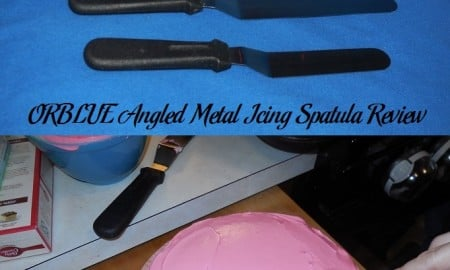 ORBLUE Angled Metal Icing Spatula Review