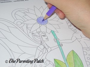 Coloring with the US Art Supply Colored Pencils 2