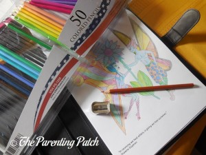 Sharpening the US Art Supply Colored Pencils