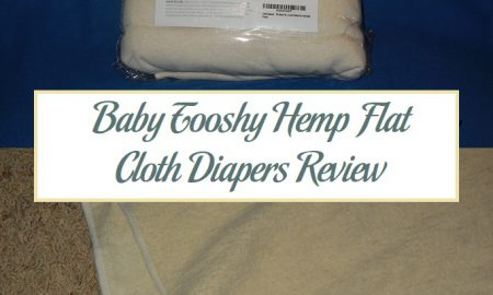 Baby Tooshy Hemp Flat Cloth Diapers Review
