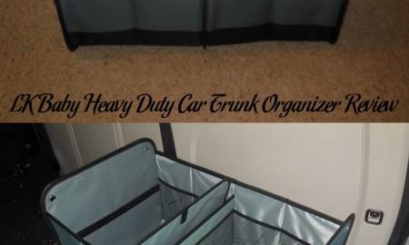 LK Baby Heavy Duty Car Trunk Organizer Review