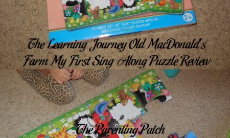 The Learning Journey Old MacDonald's Farm My First Sing-Along Puzzle Review
