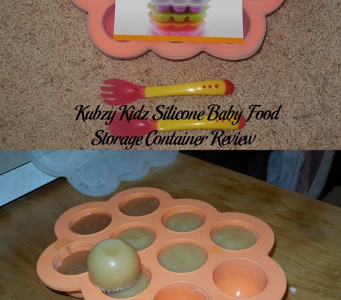 Kubzy Kidz Silicone Baby Food Storage Container Review