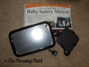 LotFancy Adjustable Back Seat Baby Safety Mirror Pieces