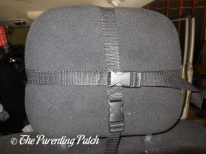 Adjusting the LotFancy Adjustable Back Seat Baby Safety Mirror Straps