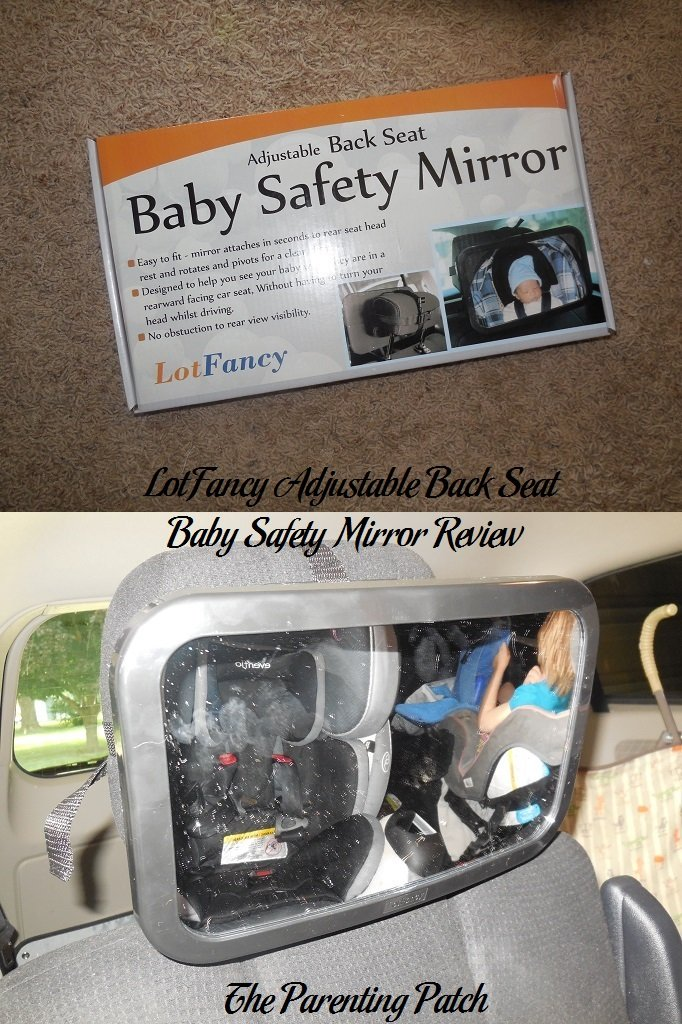 LotFancy Adjustable Back Seat Baby Safety Mirror Review