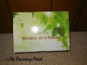 Birdious Window Bird Feeder Box