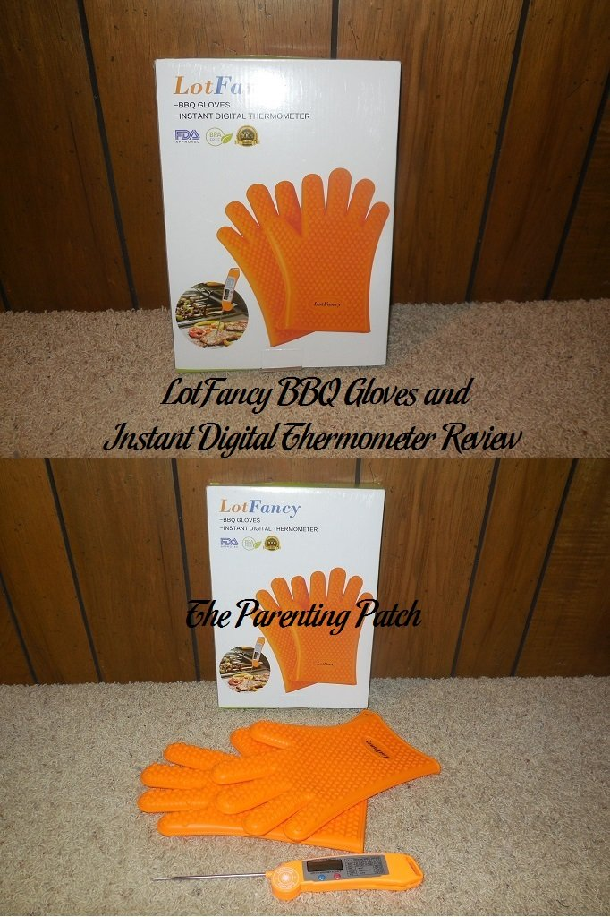 LotFancy BBQ Gloves and Instant Digital Thermometer Review