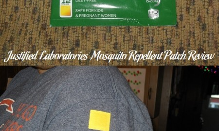 Justified Laboratories Mosquito Repellent Patch Review