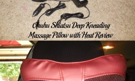 Ohuhu Shiatsu Deep Kneading Massage Pillow with Heat Review