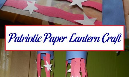 Patriotic Paper Lantern Craft