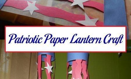 Patriotic Paper Lantern Craft