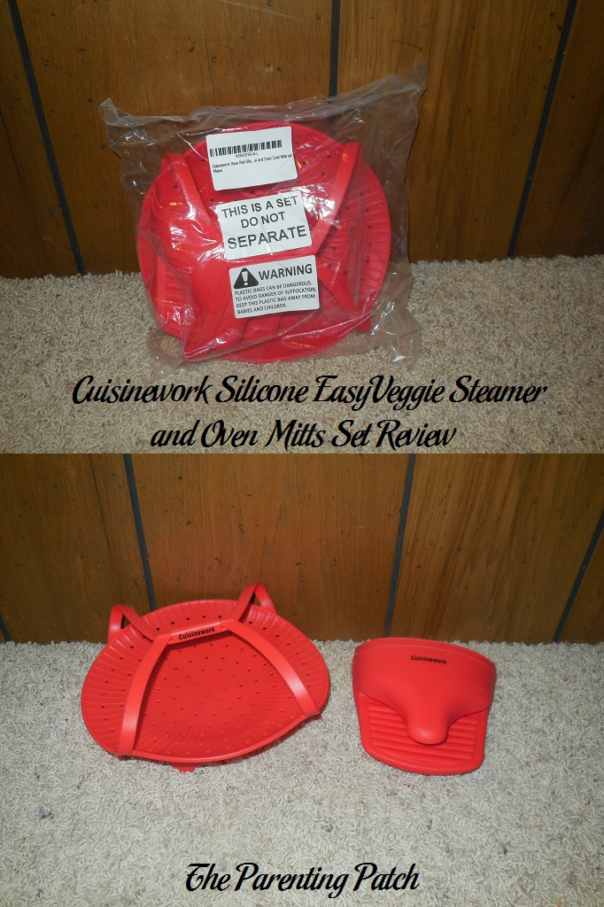 Cuisinework Silicone EasyVeggie Steamer and Oven Mitts Set Review