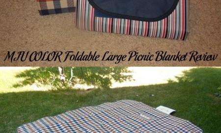 MIU COLOR Foldable Large Picnic Blanket Review