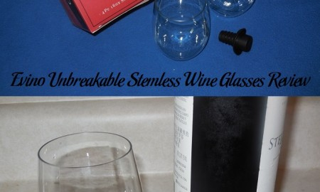Evino Unbreakable Stemless Wine Glasses Review
