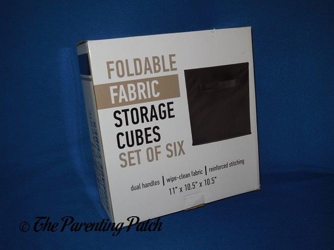 Bu0026C Home Goods Foldable Fabric Storage Cubes ...