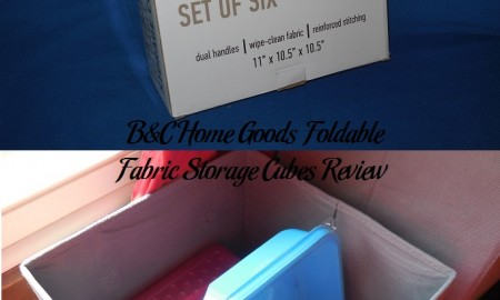B&C Home Goods Foldable Fabric Storage Cubes Review