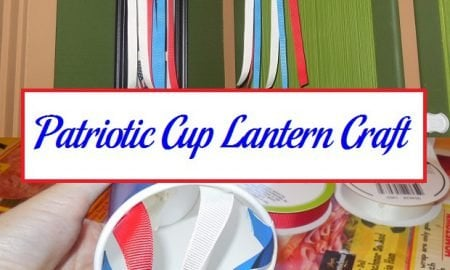 Patriotic Cup Lantern Craft