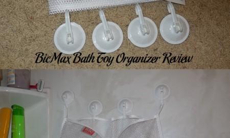 BicMax Bath Toy Organizer Review