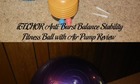 iTECHOR Anti-Burst Balance Stability Fitness Ball with Air Pump Review