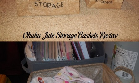 Ohuhu Jute Storage Baskets Review