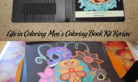 Life in Coloring Men's Coloring Book Kit Review
