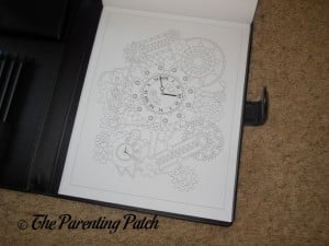 Uncolored Page in Life in Coloring Men's Coloring Book Kit 2