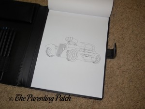 Uncolored Page in Life in Coloring Men's Coloring Book Kit 3