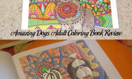 Amazing Dogs Adult Coloring Book Review